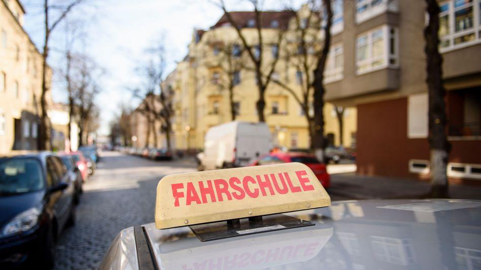 Fahrschul-Auto in Berlin
