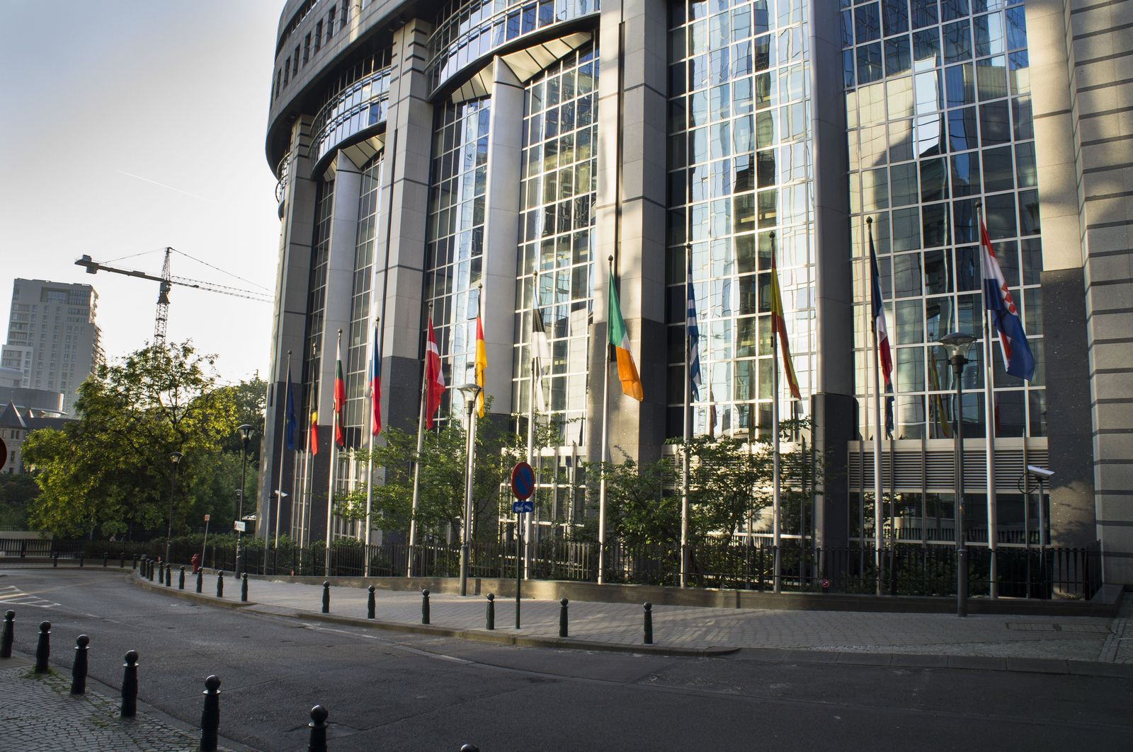 Symboldbild SEO/ EU-Parlament Brüssel/ Außen