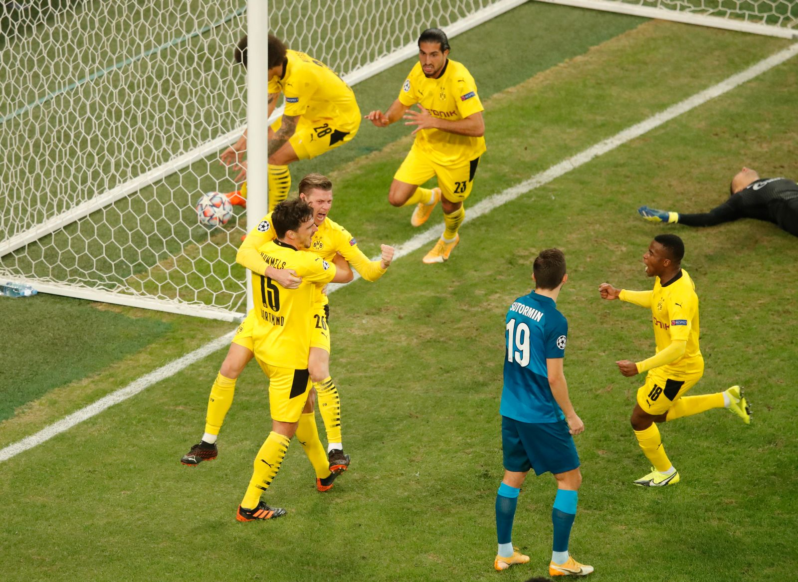 Champions League - Group F - Zenit Saint Petersburg v Borussia Dortmund
