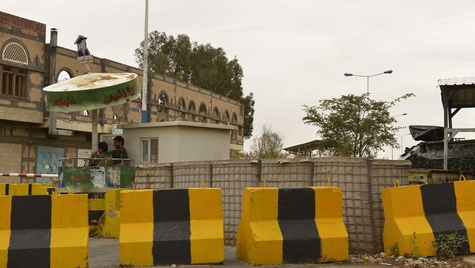 Geschlossene US-Botschaft in Jemens Hauptstadt Sanaa: Angst vor Terrorangriffen ist groß