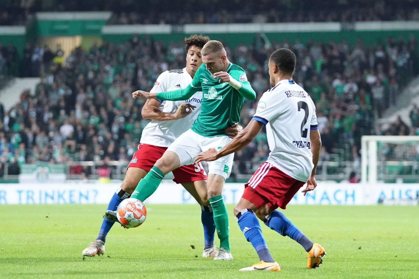 GER, 2. FBL, SV Werder Bremen vs Hamburger SV / 18.09.2021, wohninvest Weserstadion, Bremen, GER, 2. FBL, SV Werder Brem