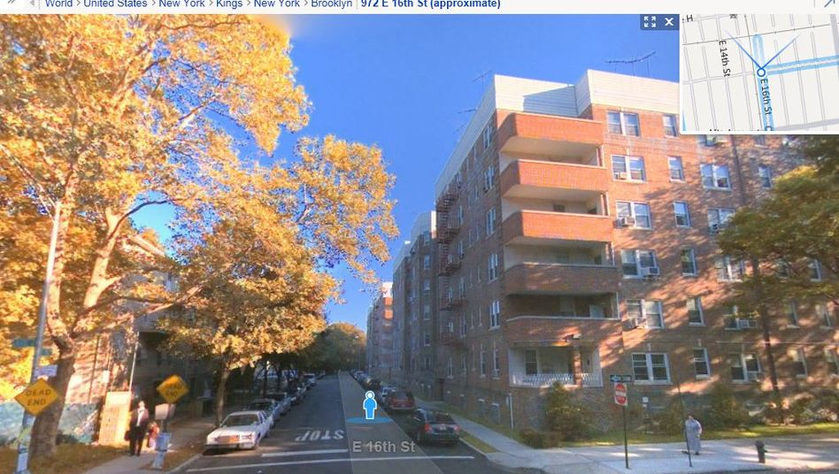 An image of a Brooklyn from the Bing Maps Streetside service. Microsoft plans to introduce its Streetview competitor in Germany this summer.