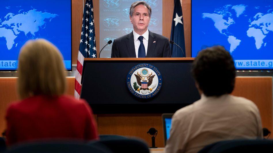 US-Außenminister Blinken: »Sie waren für uns da. Wir werden für sie da sein«