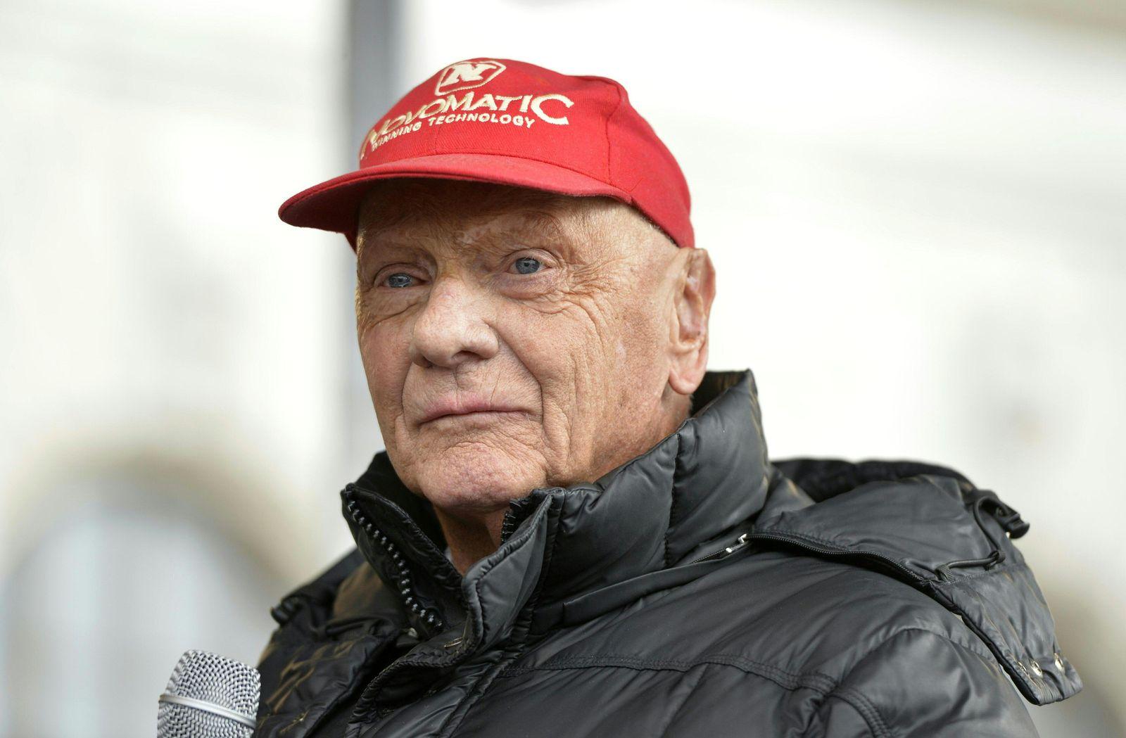Mercedes Niki Lauda