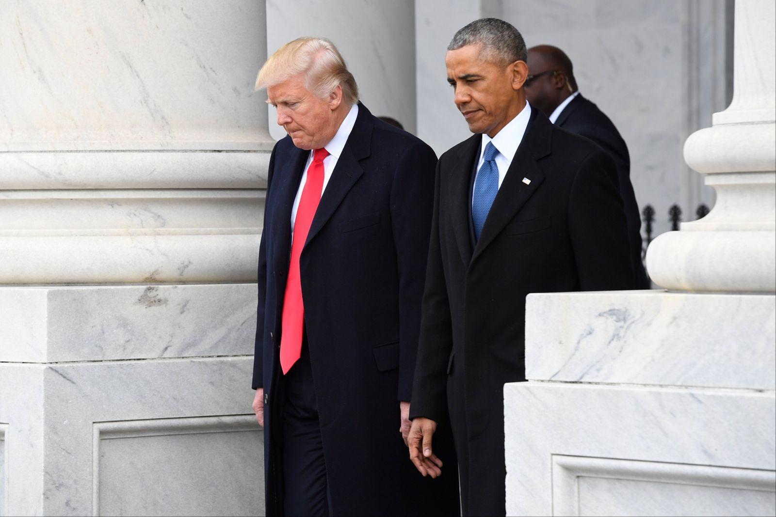 Trump/ Obama