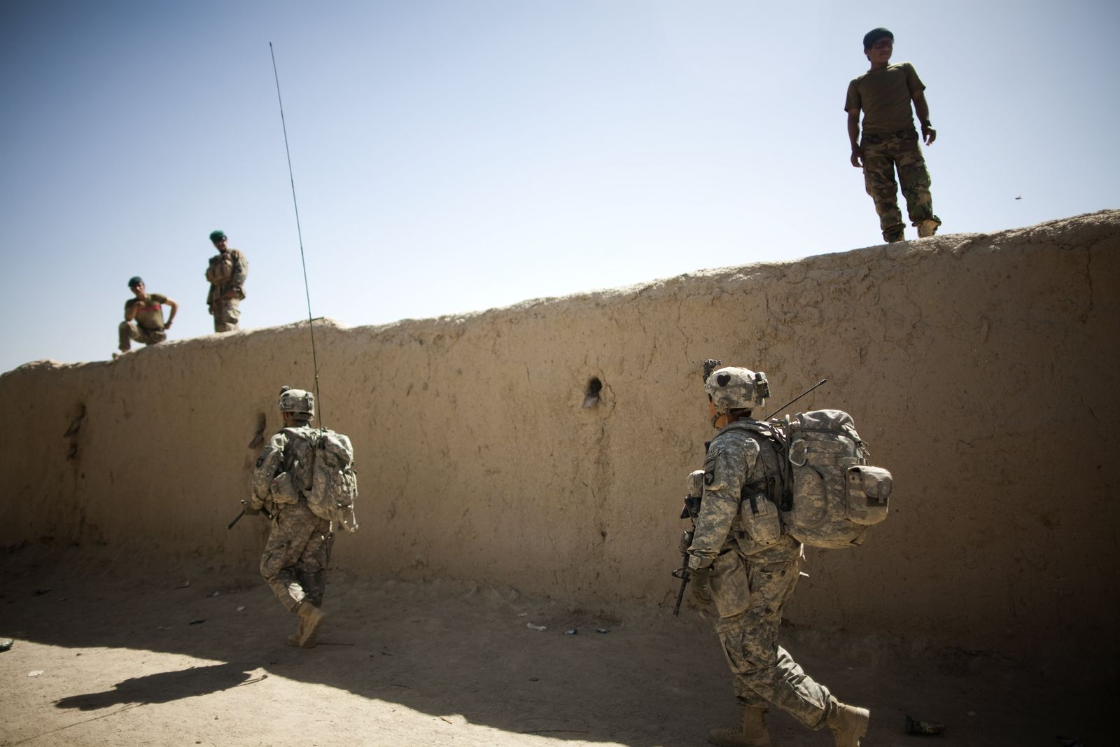 Afghanistan US-Soldaten