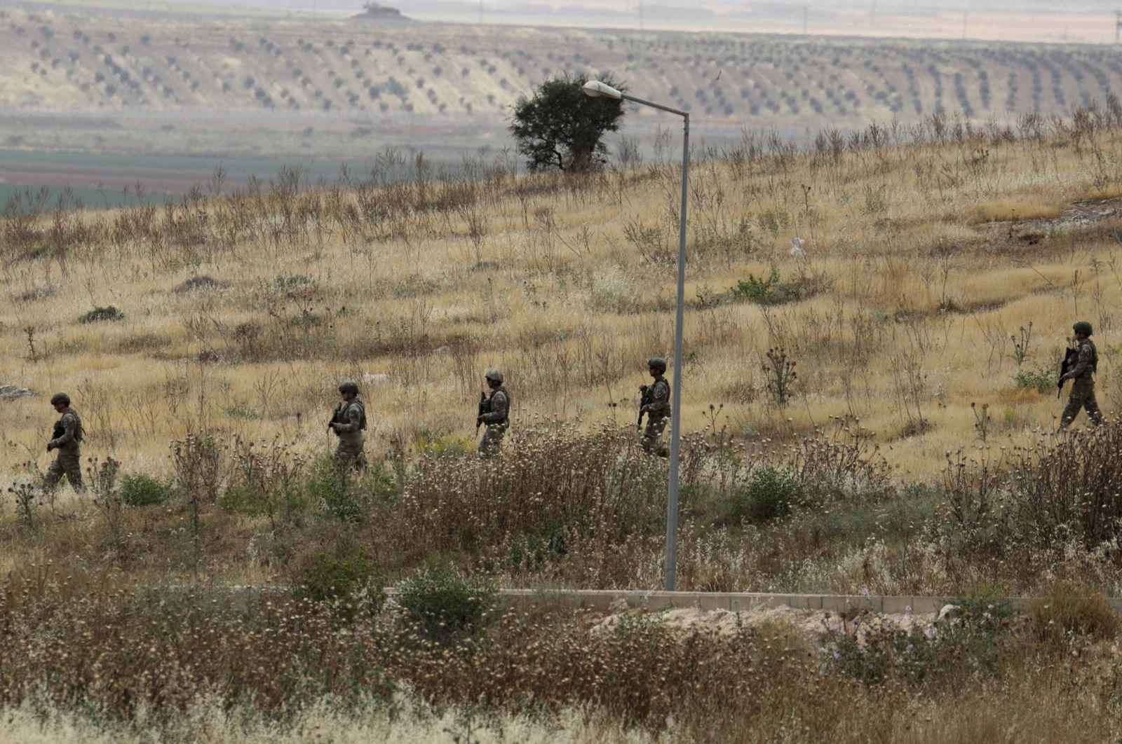 Türkische Soldaten/ Syrien