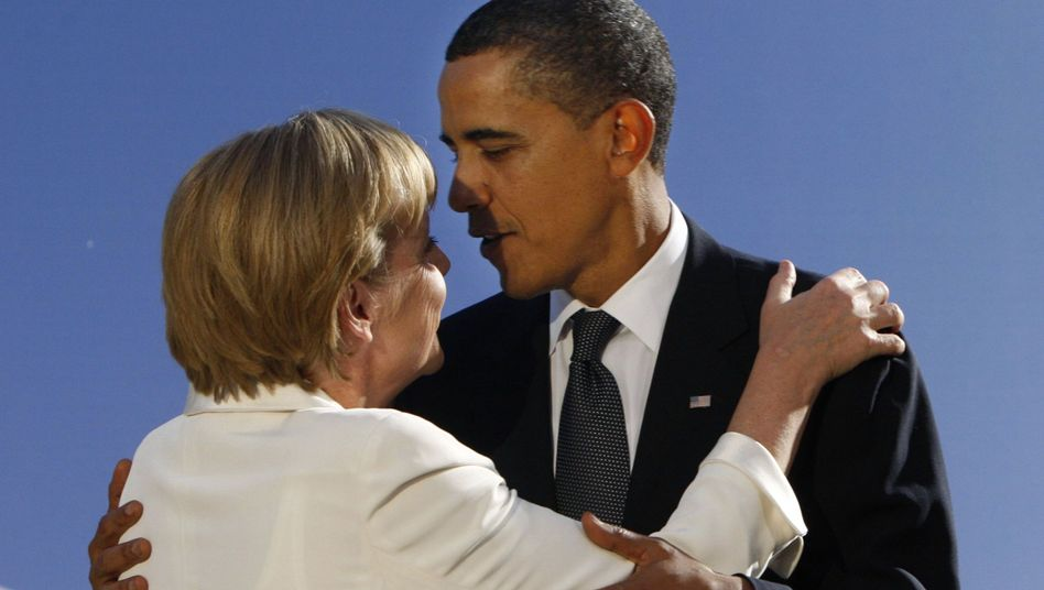 """Bundeskanzlerin Merkel im Gespräch mit Obama: """"Das ist mehr, als ich erwartet habe"""""""