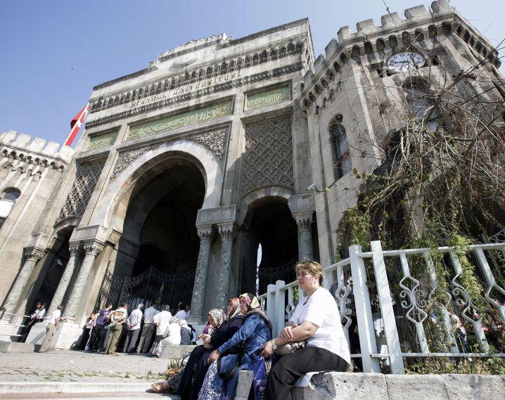 Universitätsgebäude in Istanbul
