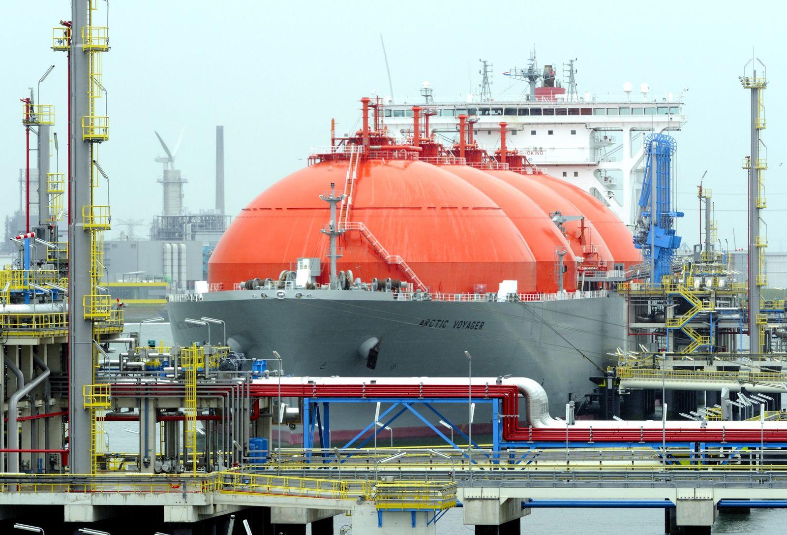 Ölpreis / Hafen von Rotterdam / Tanker