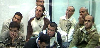 Terrorverdächtige in Madrid: Massive Sicherheitsvorkehrungen vor Gericht