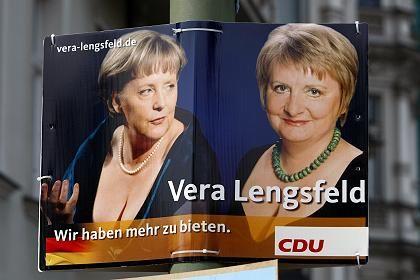 """Wahlplakat der CDU in Berlin: """"Da musste ich mir was einfallen lassen"""""""