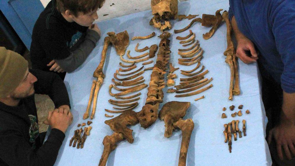 Sensationsfund: Skelett des unbekannten Königs