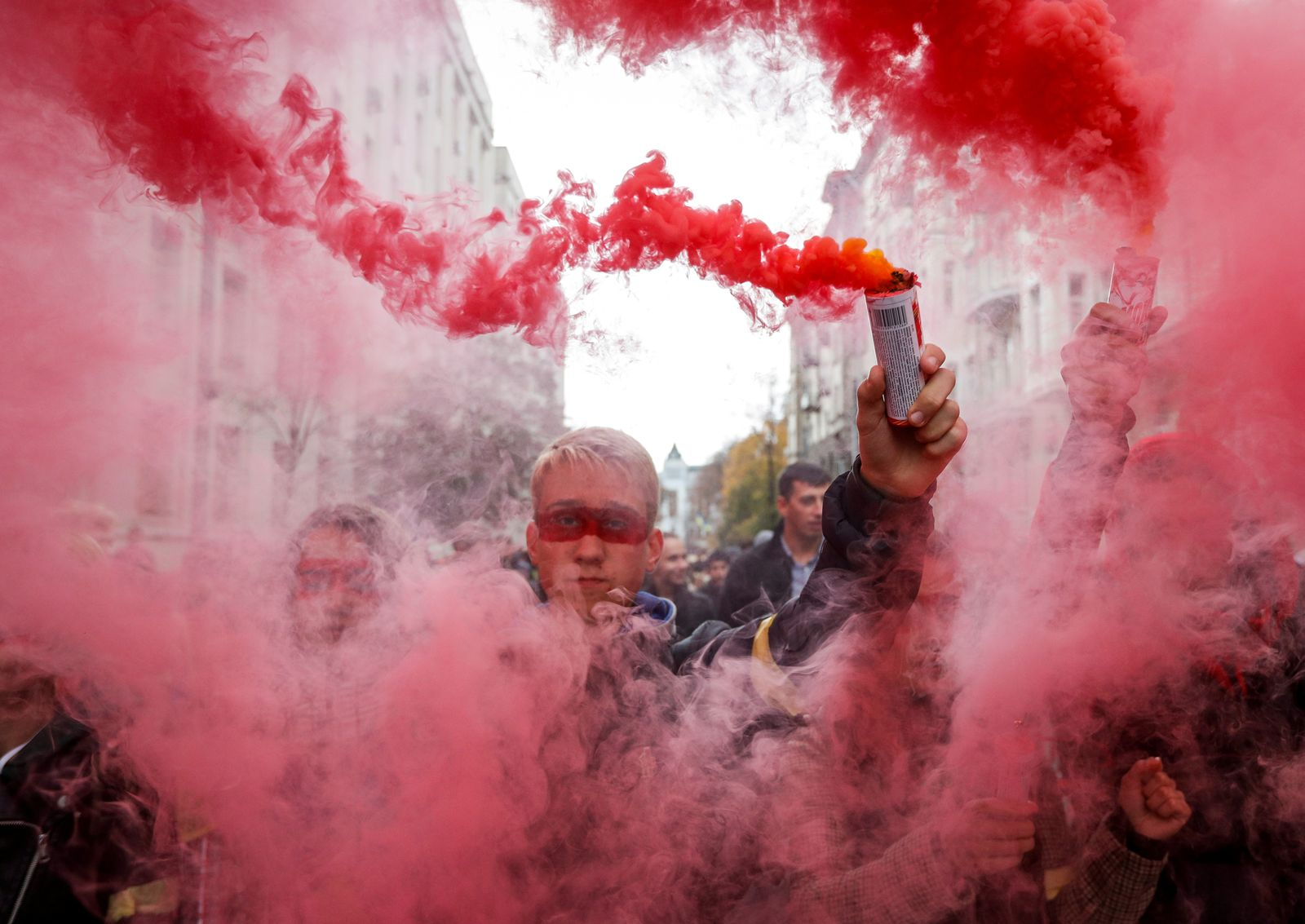 Ukraine/ Demonstration/ Steinmeier Formula