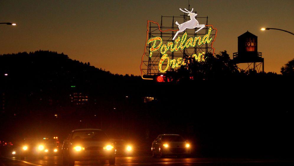 Portland in Oregon: Dragqueens und Nacktradler
