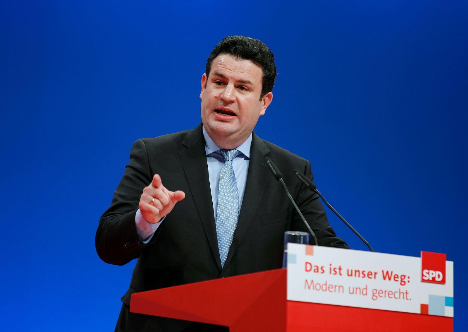 SPD-Minister/ Hubertus Heil