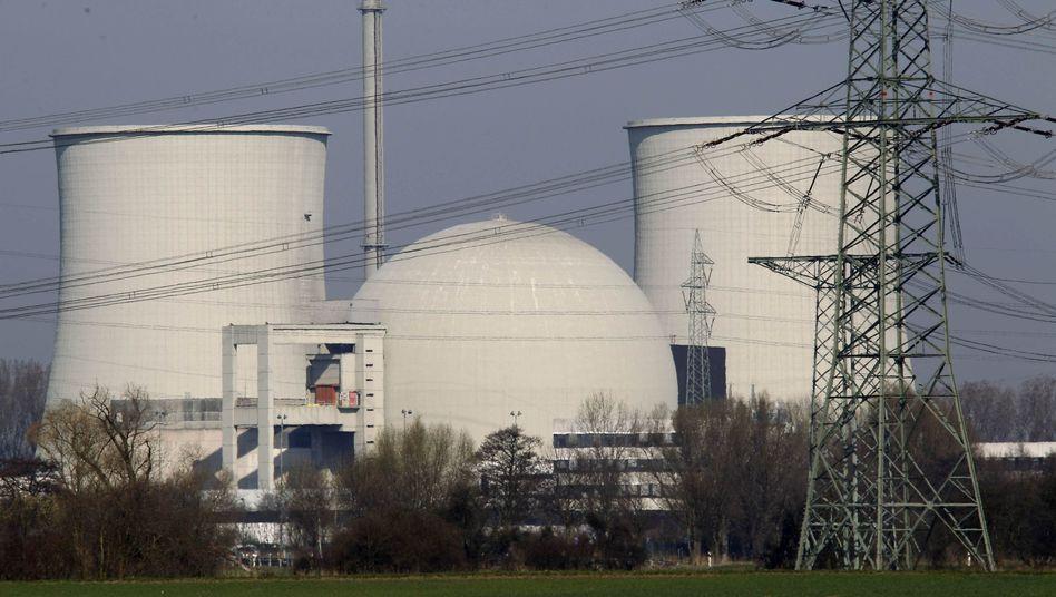 AKW Biblis: Debatte über Atomkraft