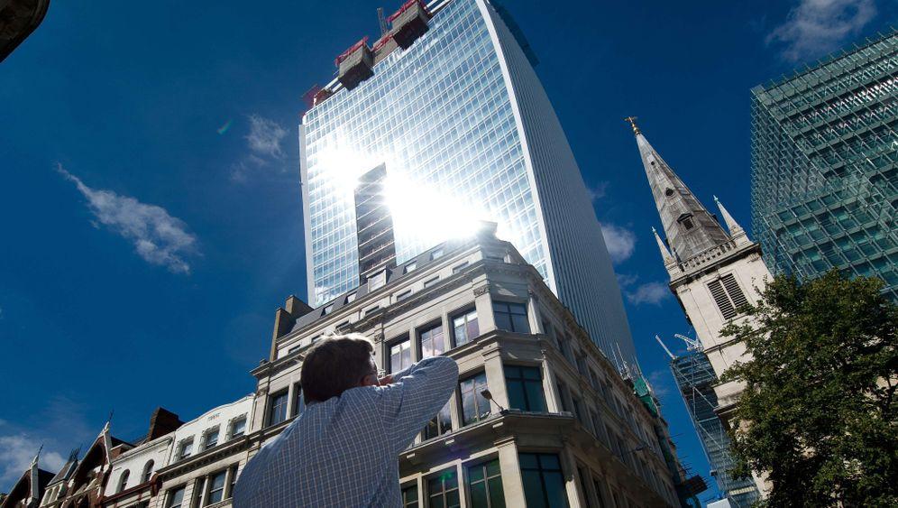 """Wolkenkratzer """"Walkie-Talkie"""": Architekt überrascht von der vielen Sonne in London"""