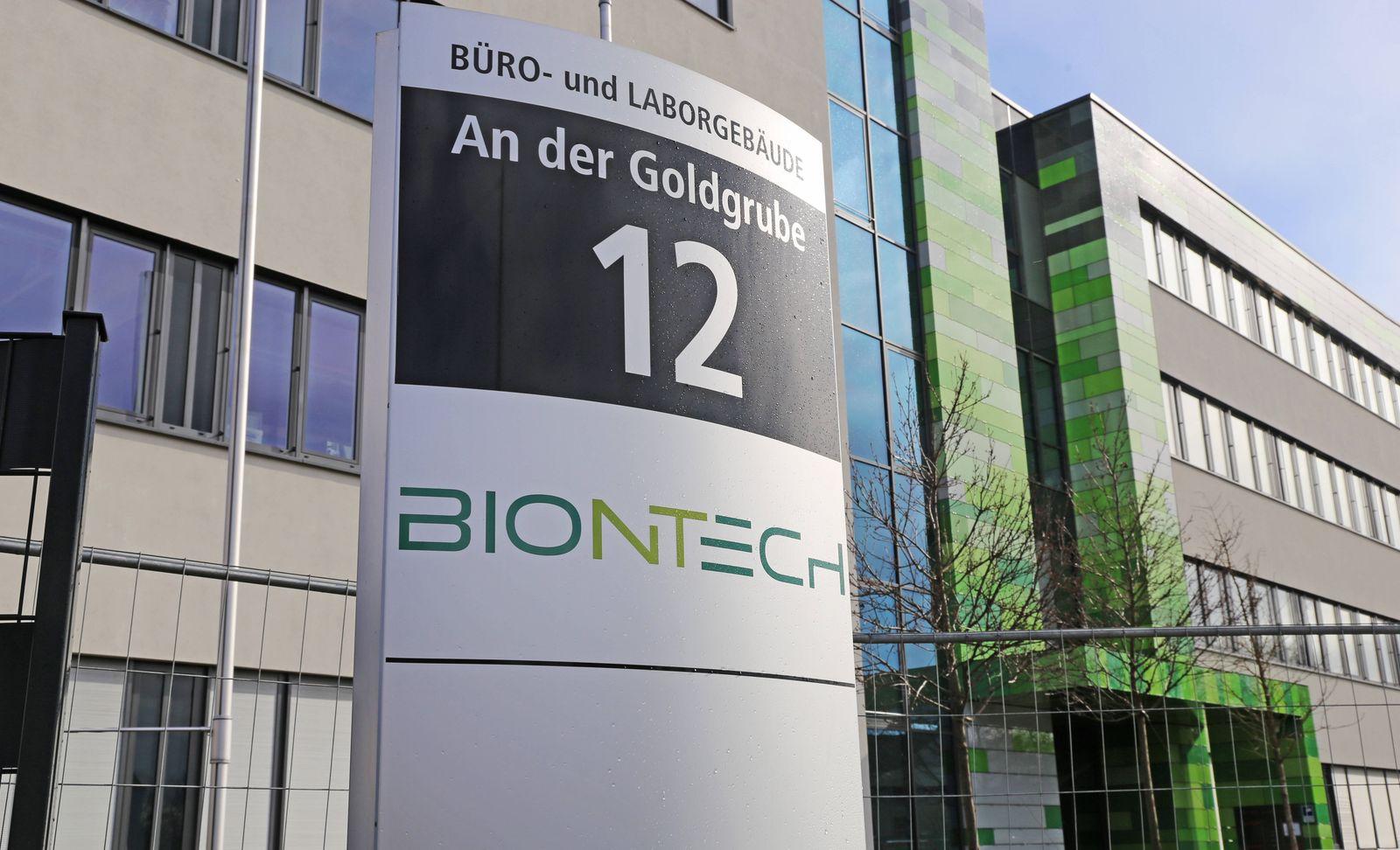 Biontech meldet 480 Millionen Dollar Umsatz - DER SPIEGEL