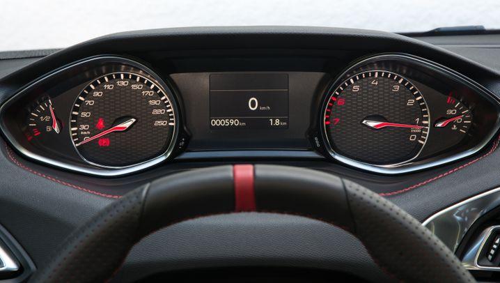 Aus digital wird analog: Das Cockpit des Peugeot 308