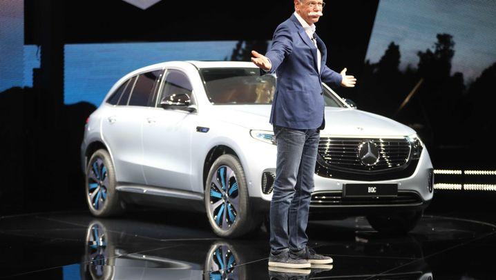 Mercedes EQC: SUV für die Steckdose