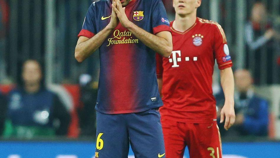 Sergio Busquets: Fehlt im Halbfinal-Rückspiel gegen die Bayern
