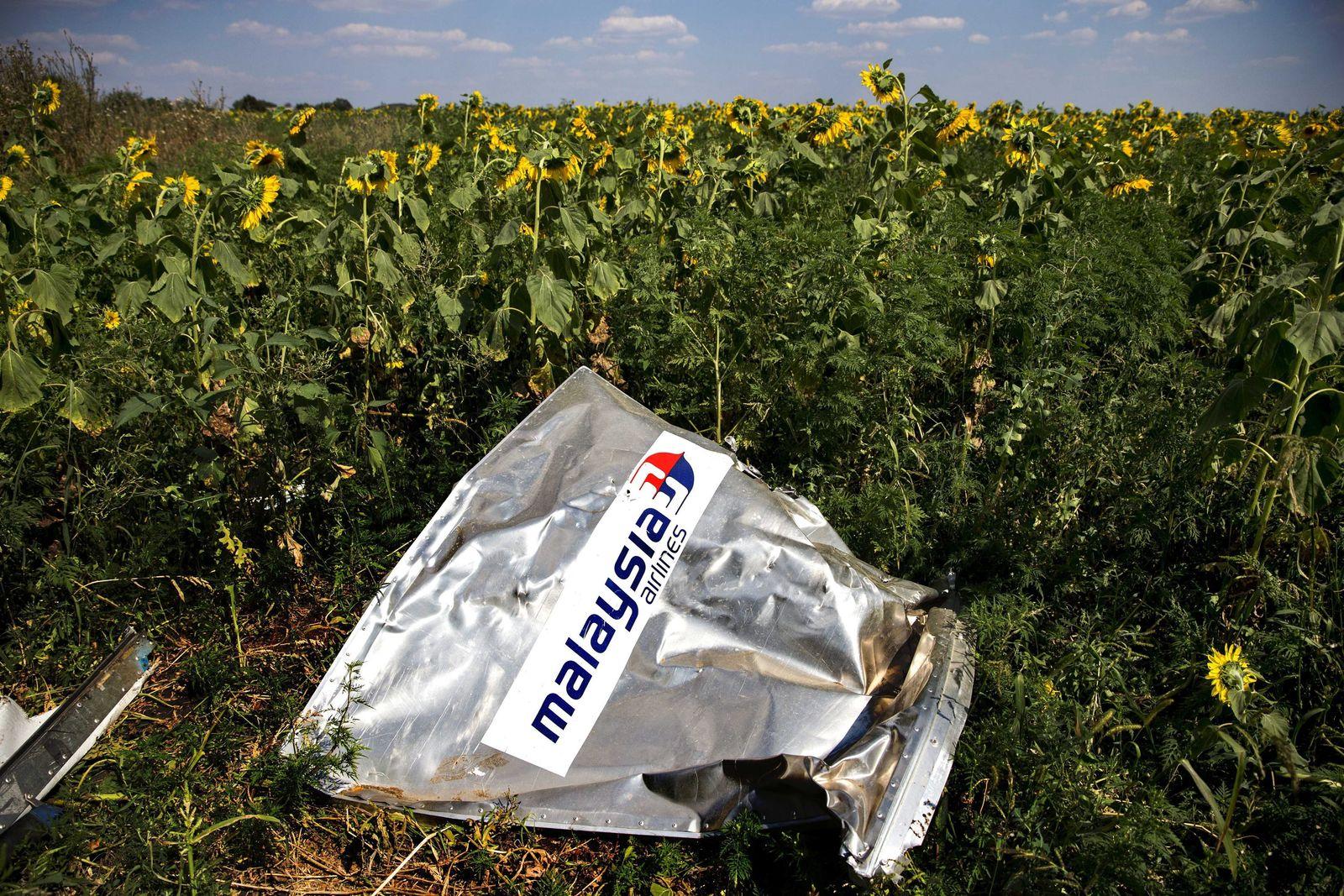Trümmer Flugzeug Bergungstrupp OSZE