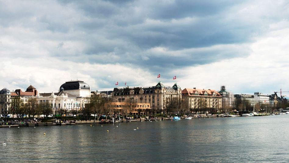 Zürich-Panorama: Ein Streit unter Top-Bankmanagern ist völlig außer Kontrolle geraten
