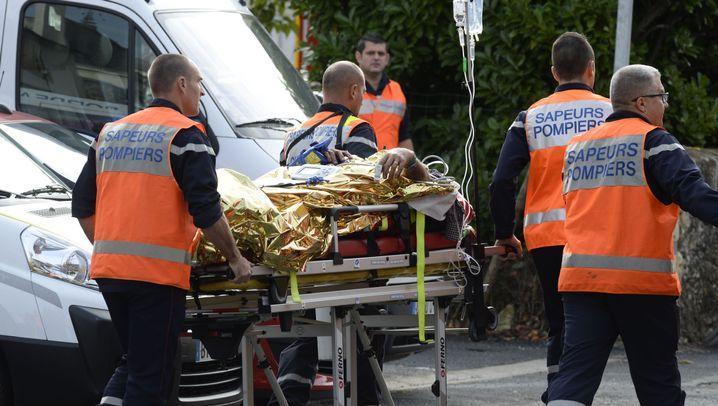 Frankreich: Schwerer Unfall bei Bordeaux