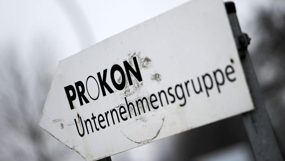 Wegweiser zum Prokon-Gelände: Keine Übersicht über die Finanzströme