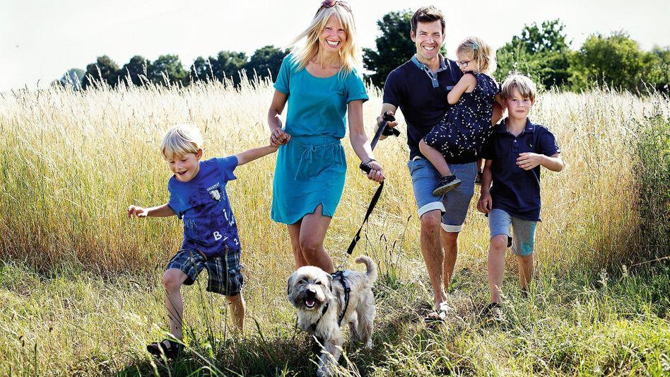 Eltern Meuser mit Kindern: »Nicht radikal, sondern pragmatisch«