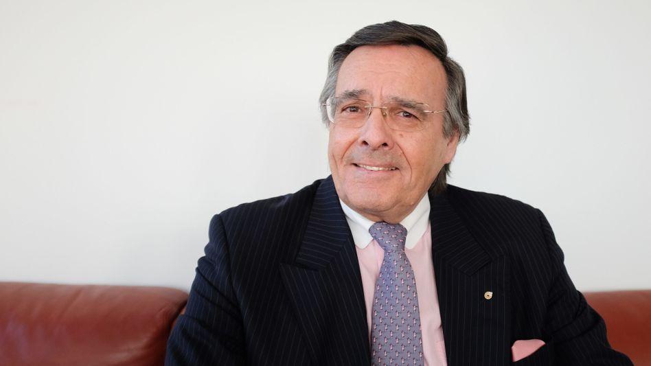 Mario Ohoven, Präsident des Bundesverbands mittelständischer Wirtschaft (BVMW), starb bei einem Unfall