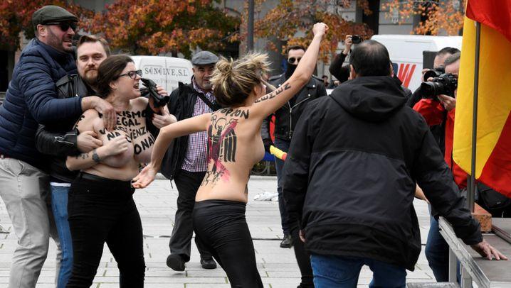 Fotostrecke: Unruhen in Madrid