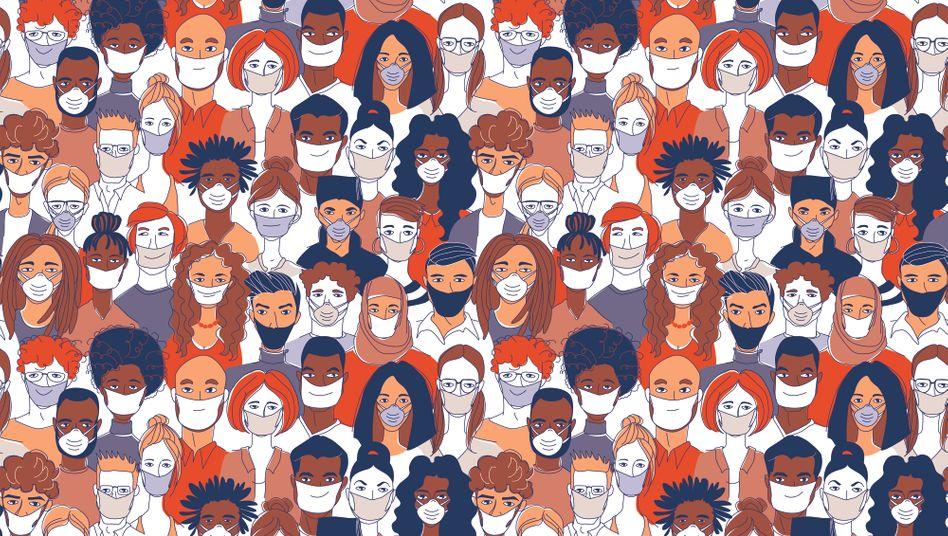 Mundschutz für alle? Einige Politiker und Mediziner fordern eine Maskenpflicht für Gesunde und Corona-Infizierte gleichermaßen