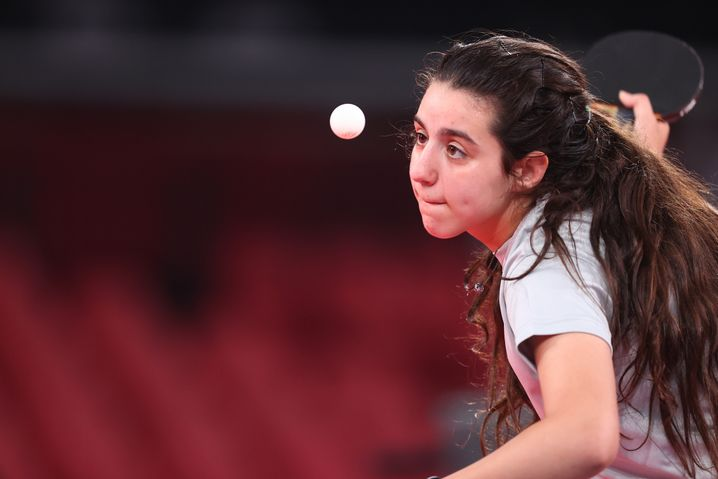 Tischtennisspielerin Hend Zaza