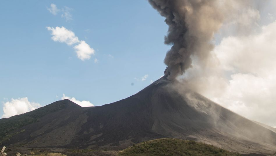 Ausbruch des Pacaya am 3. März 2021