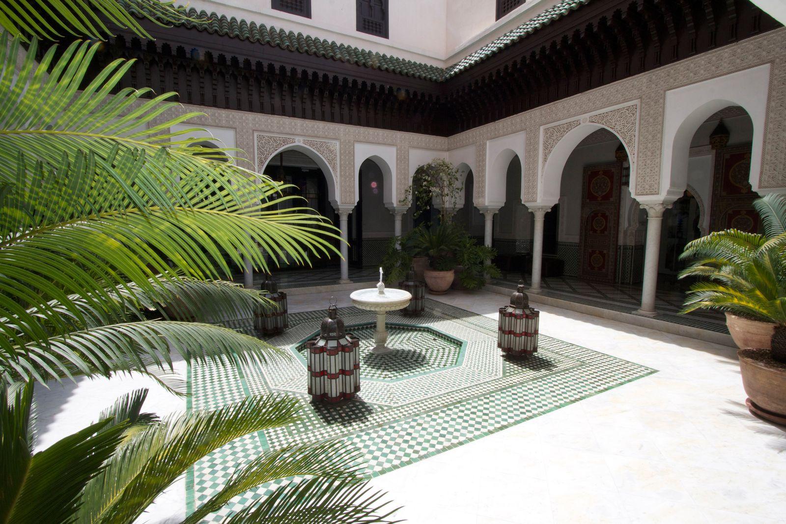 Paradiese hinter dicken Mauern - Marrakeschs Innenhöfe