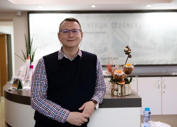 Ralf Schäfer, Leiter des Immanuel Seniorenzentrums