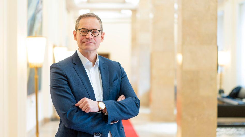 """Berlins Regierender Bürgermeister Michael Müller: """"Wir werden das öffentliche Leben nur schrittweise wieder hochfahren können"""""""