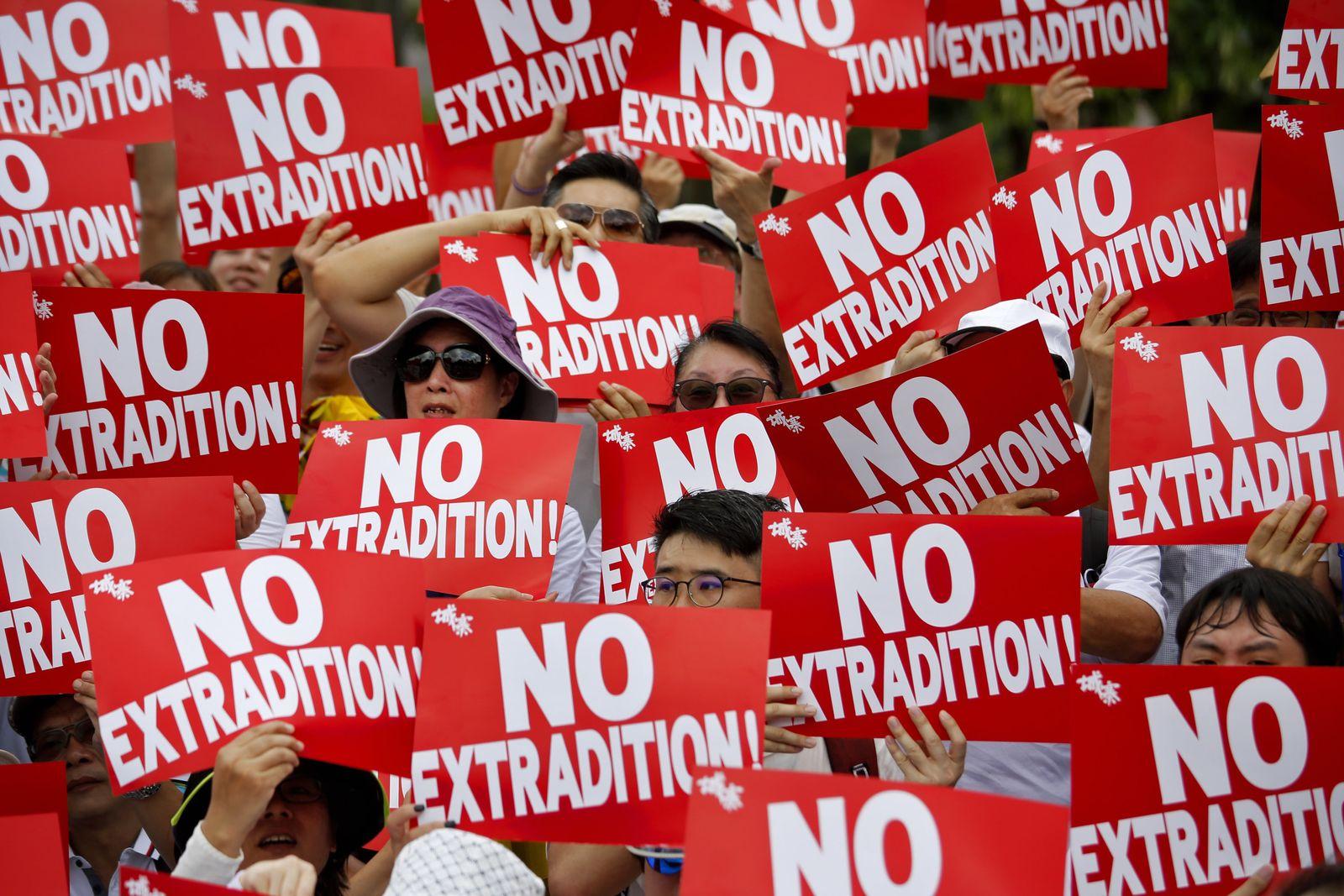Hongkonger Auslieferungsgesetz