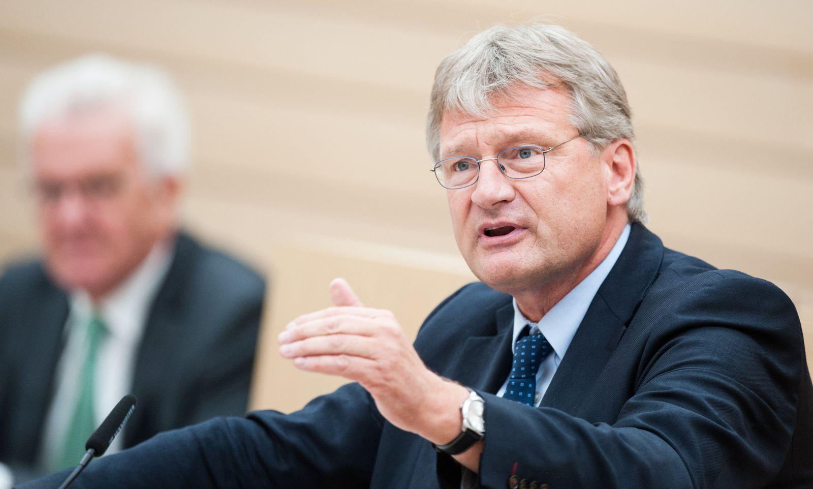 Landtag Stuttgart, Jörg Meuthen