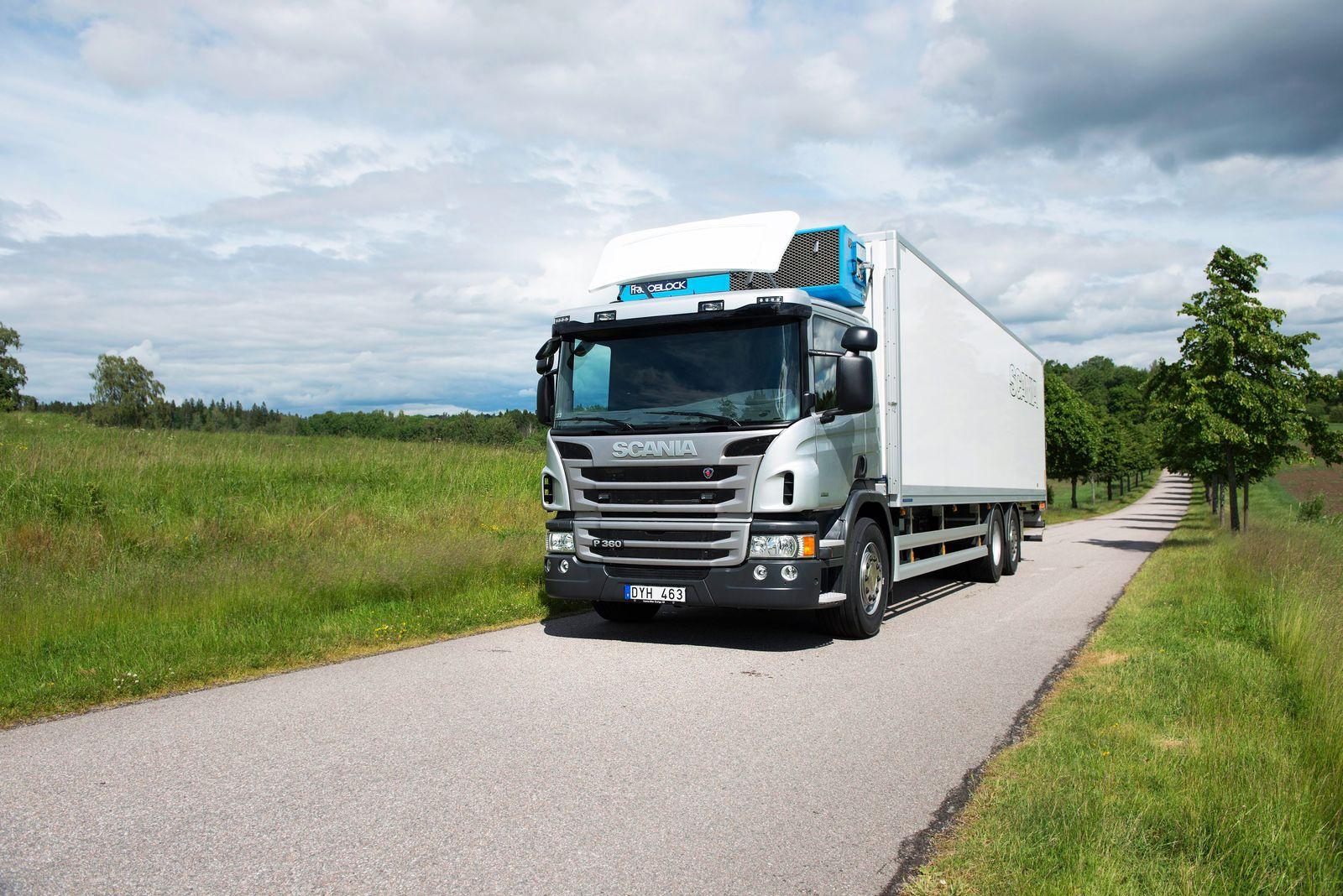 EINMALIGE VERWENDUNG Lkw / Scania
