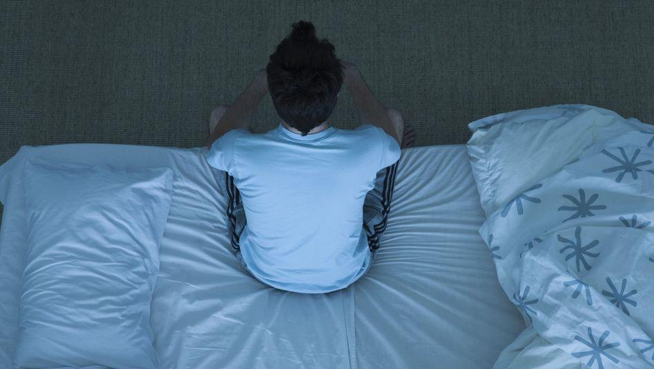 Immer noch wach: Schlafstörungen sind weit verbreitet