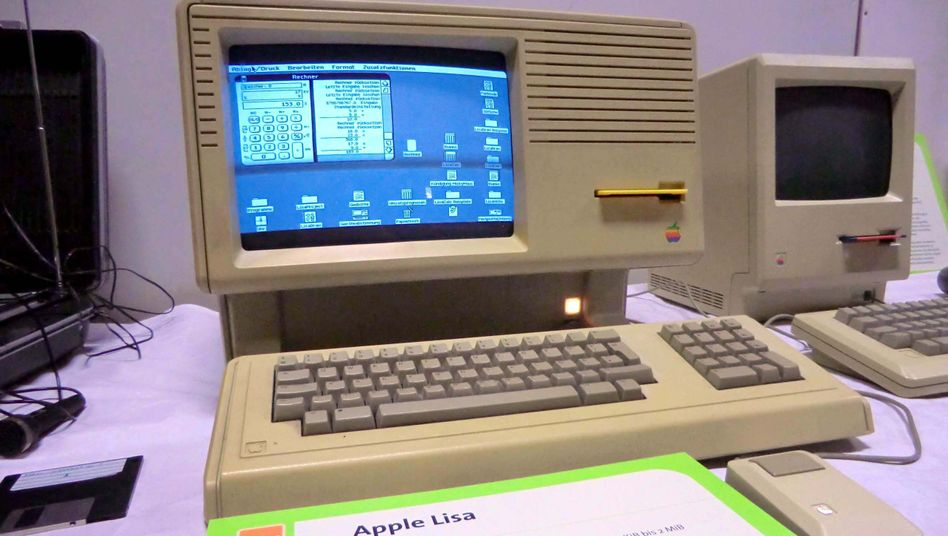 Apple Lisa (links) und Macintosh