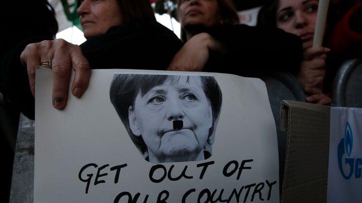 Zypern und Co.: Antideutsche Töne in der Euro-Krise