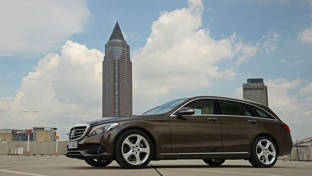 Autogramm Mercedes C-Klasse T-Modell: Der macht sich lang