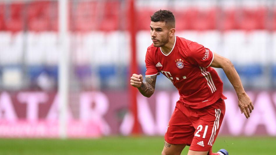 Lucas Hernández: FC-Bayern-Spieler hat Ärger mit der Justiz (Archivbild)