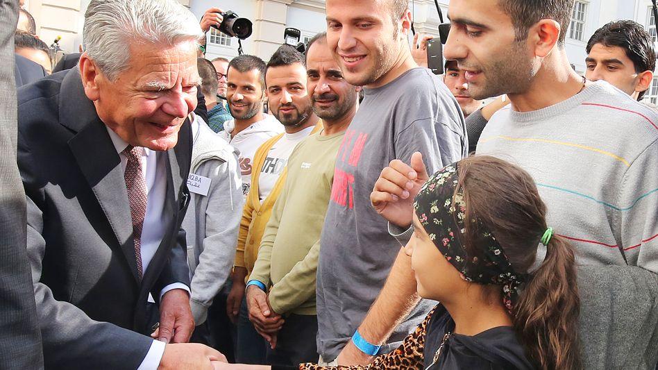 Bundespräsident Gauck: Spricht von einem hellen und einem Dunkeldeutschland