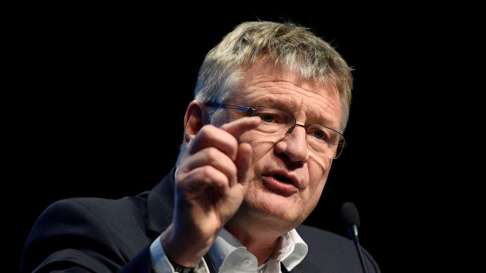 AfD-Chef Jörg Meuthen (Archivaufnahme)