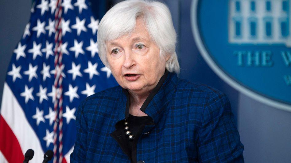 US-Finanzministerin Yellen: »Wir würden aus dieser Krise als eine dauerhaft geschwächte Nation hervorgehen«